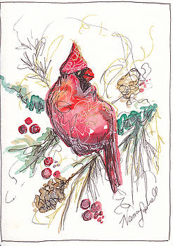 My Favorite Cardinal by Michele Hollister - for Nancy Asbell
