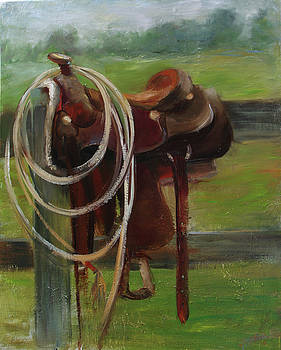 My Favorite Saddle by Jill Holt