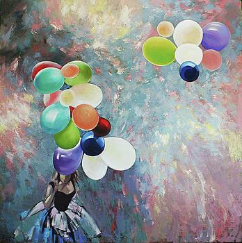 My friend the wind. by Anastasija Kraineva