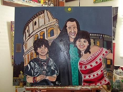 my friends trip to Italy by Jeffrey Foti