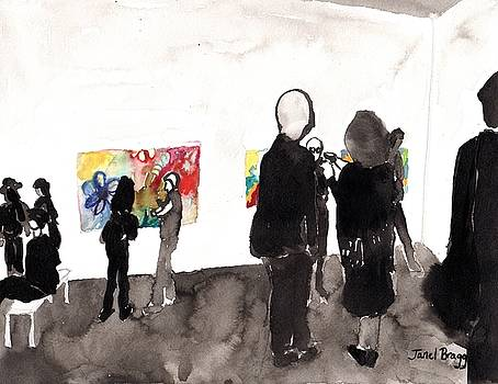 My Gallery Opening by Janel Bragg