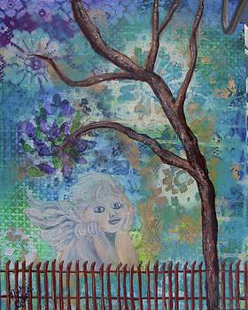 My Garden Angel by Mikki Alhart