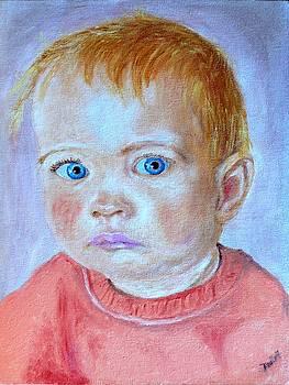 My granddaughter Leonie  by Helmut Rottler