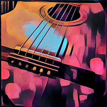 My Guitar2 by Anne Thurston