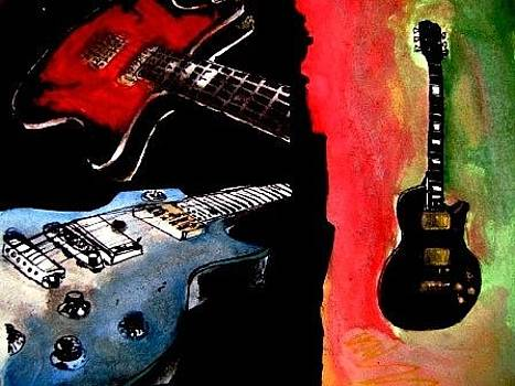 My Guitars by Francisco Luna