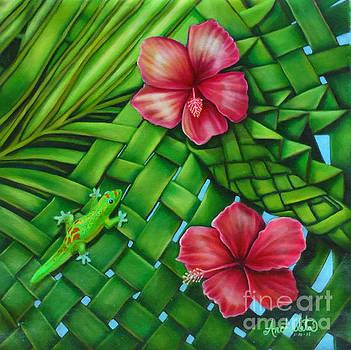 My Hawaiian Gecko by Ruben Archuleta - Art Gallery