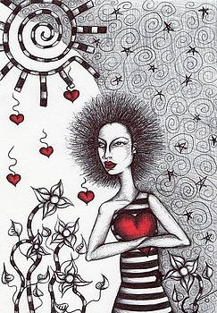 My heart by Agatha Green