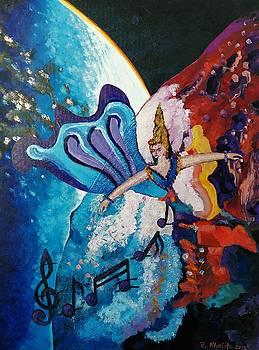 My inspirational Goddess by Ray Khalife