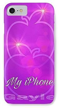 My iPhone N Mauve by Gayle Price Thomas