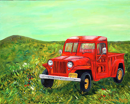 My Jeep by Andrea Folts