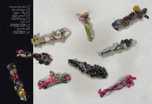 My jewelry 04 Hair jewels by Jelena Ignjatovic