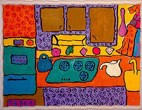 My Kitchen by Joyce Goldin