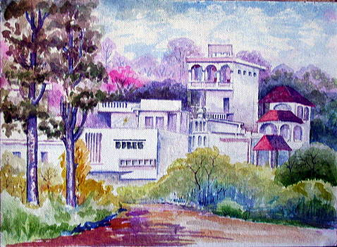 My Latest Water Color Work by Prabhu  Dhok