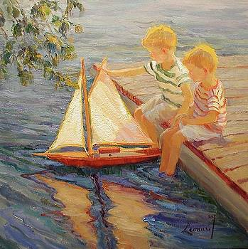 My Little Brother's Sailboat by Diane Leonard