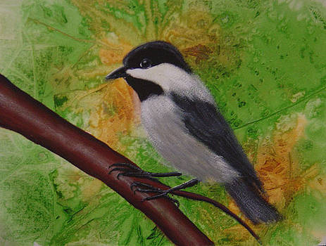 My little chickadee by Teresa Boston