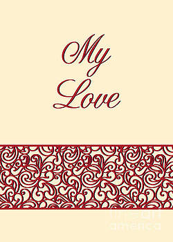My Love Red Deco by JH Designs