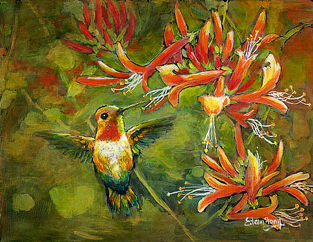 My Loving Hummingbird by Eileen  Fong