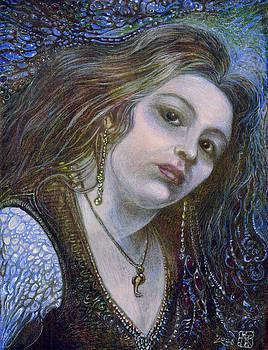 My Mermaid Christan by Otto Rapp