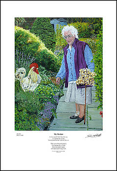 My Mother - Giclee Print by Peter Mark Butler