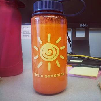 My New Smoothie Bottle Just Might Be by Pharen Bowman