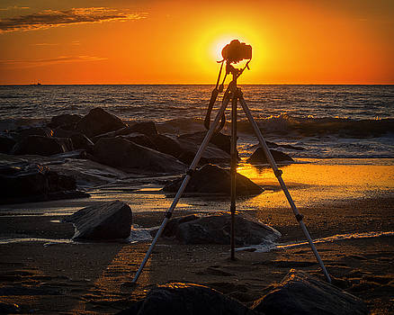Bill Swartwout Fine Art Photography - My Office At The Beach