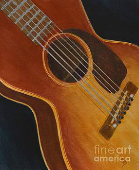 My Old Sunburst Guitar by Karen Fleschler