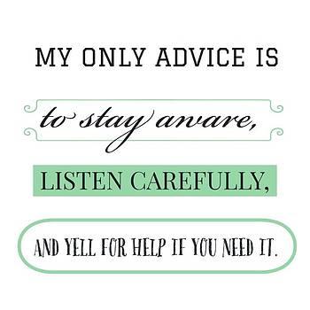 My Only Advice Is by Jen Lynn Arnold