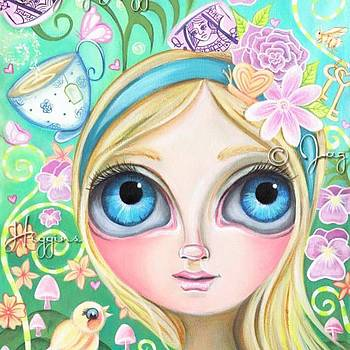 My Original alice In Pastel Land by Jaz Higgins