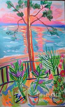 My Patio by Sharon Worley