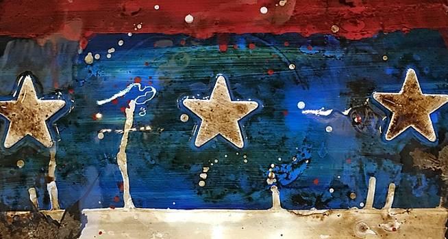 My patriotic heart  by Ana's Jazzy art