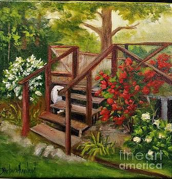 My Porch Steps by Barbara Haviland