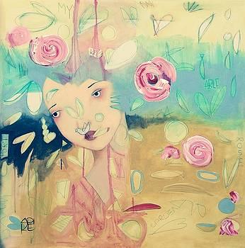 My Portable Rose Garden by Erika Husselmann