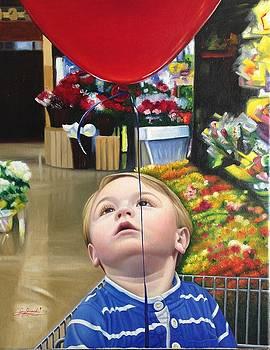 My Red Balloon by Gary Hernandez