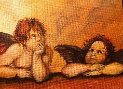my rendition of Sistine Cherubs by Aaron Druliner