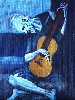 my rendition of The Old Guitarist by Aaron Druliner