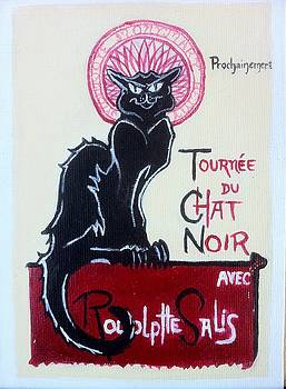 my rendition of Tournee du Chat Noir by Aaron Druliner