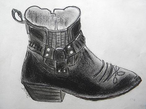 My Right Boot by Denise Hills