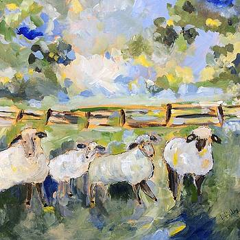 My sheep will follow me by Teresa Tilley