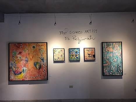 my show in Mexico by Michael Pedziwiatr