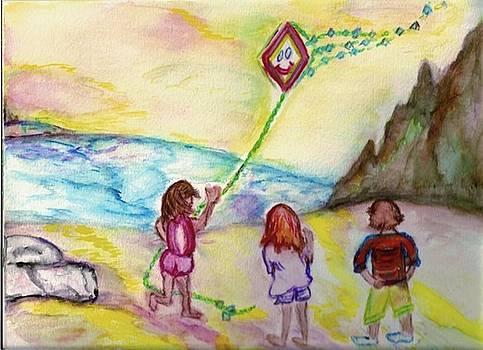 My Sister My Brother My Kite by Helena Bebirian