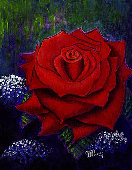 My Special Rose by Jean-Marie Poisson