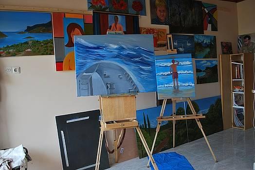 My Studio by Kostas Koutsoukanidis