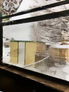 My Tool Shed in the Snow by Lenore Senior
