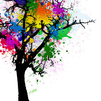 My Tree Of Many Colors by Peter Stevenson
