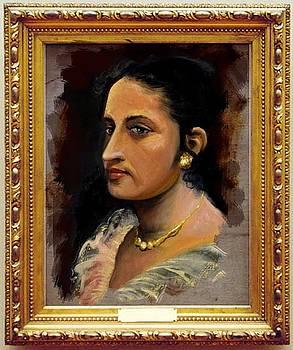 My wife by Saliya Liyanarachchi