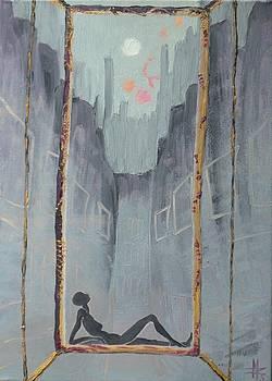 My Window Monday Morning by Zsuzsa Sedah Mathe