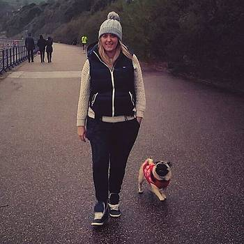 My World!! #ohana #walk #puglife by Natalie Anne
