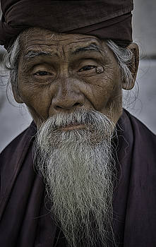 Myanmar Holy Man by David Longstreath