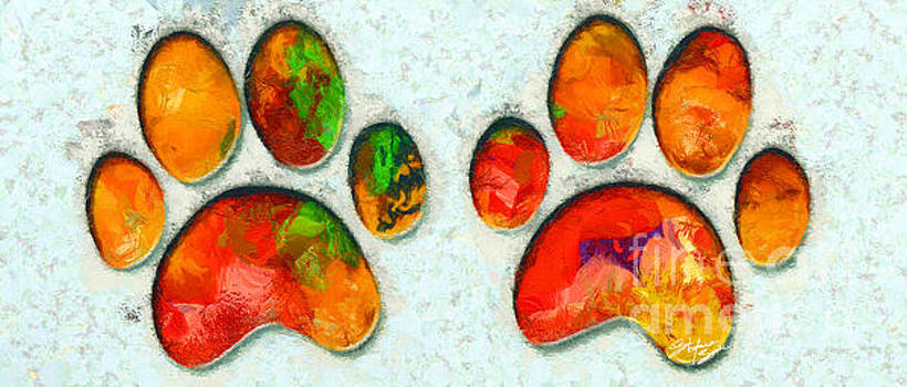 My Cat Paw by Stefano Senise