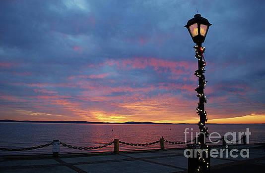 Myriad Lights at Sunrise by Jeannie Allerton